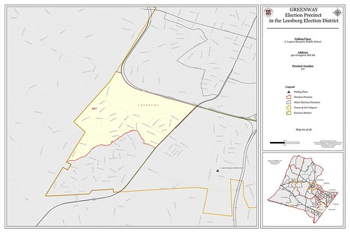 Precinct 507 - Greenway | by Office of Mapping, County of Loudoun