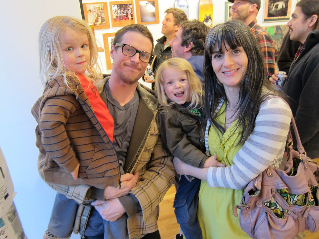 Justin Hindery and family (Shrunken Head co-owner) | Flickr