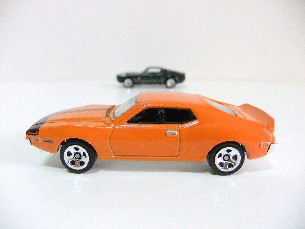 71 AMC JAVELIN AMX & ´67 SHELBY GT500 - HOT WHEELS | Flickr