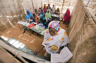 Women's Center at Abu Shouk IDP Camp, North Darfur | by United Nations Photo
