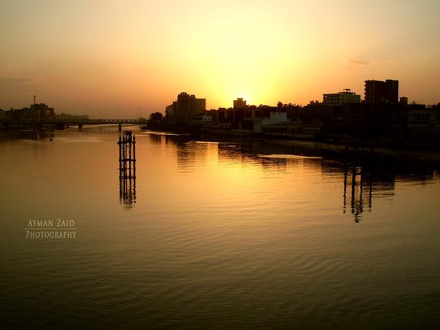نهر النيل - المنصورة