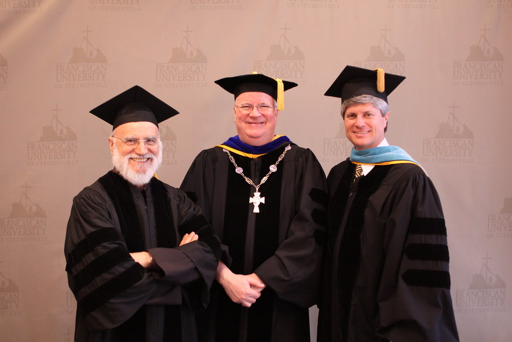 Fr. Terry with Dignitaries