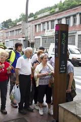 Totem de San Lorenzo que registra y envia los datos por radiofrecuencia