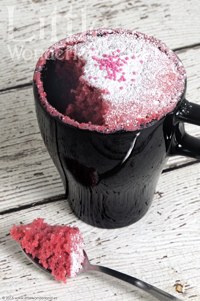 Mug Cake De Frambuesa Raspberry Mug Cake Receta En Rec