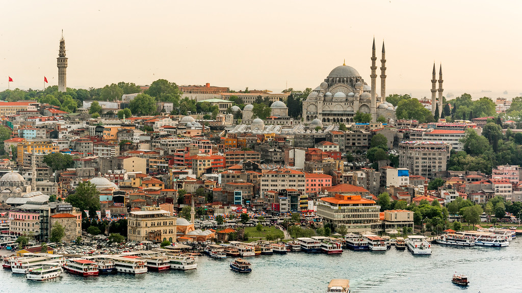 Old Town Istanbul 4k Wallpaper Desktop Background Flickr