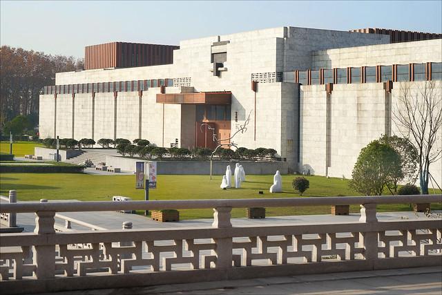 Le nouveau bâtiment du musée de Nanjing (Chine)