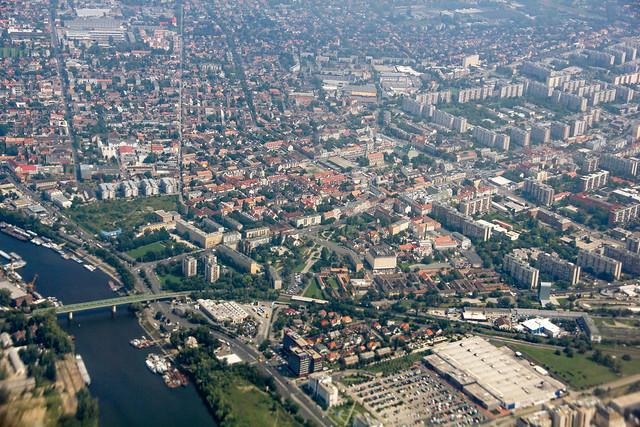 Ujpest-aerial