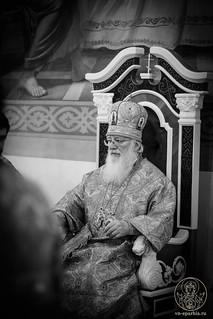 Литургия в Покровском соборе 156
