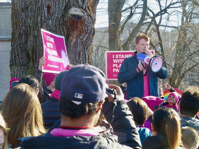 Joe Kennedy with Planned Parenthood