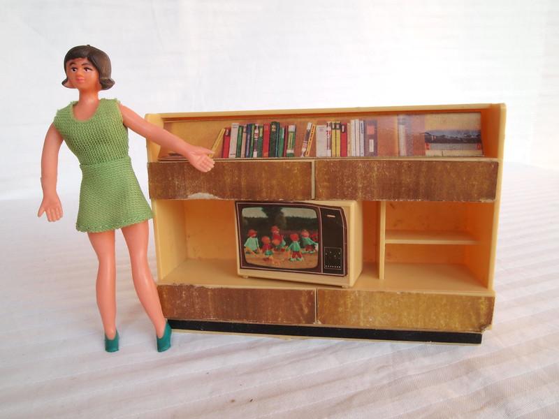1960s 1970s JEAN furniture sets - cupboard