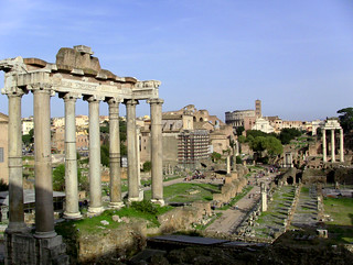 View of Forum from Capitoline Hill(Rome in A Day Tour) | by Rome Cabs