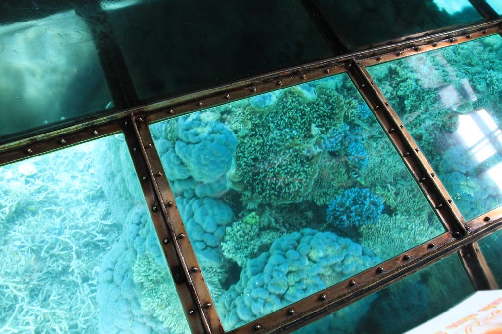 Kabira Beach (Glass Boat) ClubMed Kabira Press Tour