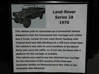 1970 Land Rover Series 2A LWB - Ceremonial Vehicle with Gun Carriage