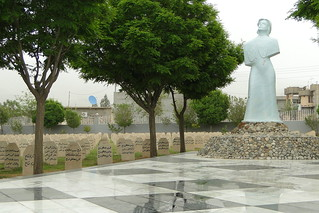 Monument at Cemetery for Victims of 1988  Chemical Attack - Halabja - Kurdistan - Iraq | by Adam Jones, Ph.D. - Global Photo Archive
