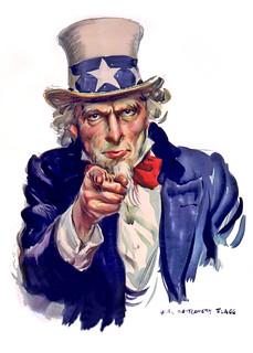 Uncle Sam I Want You - Poster Illustration | by DonkeyHotey