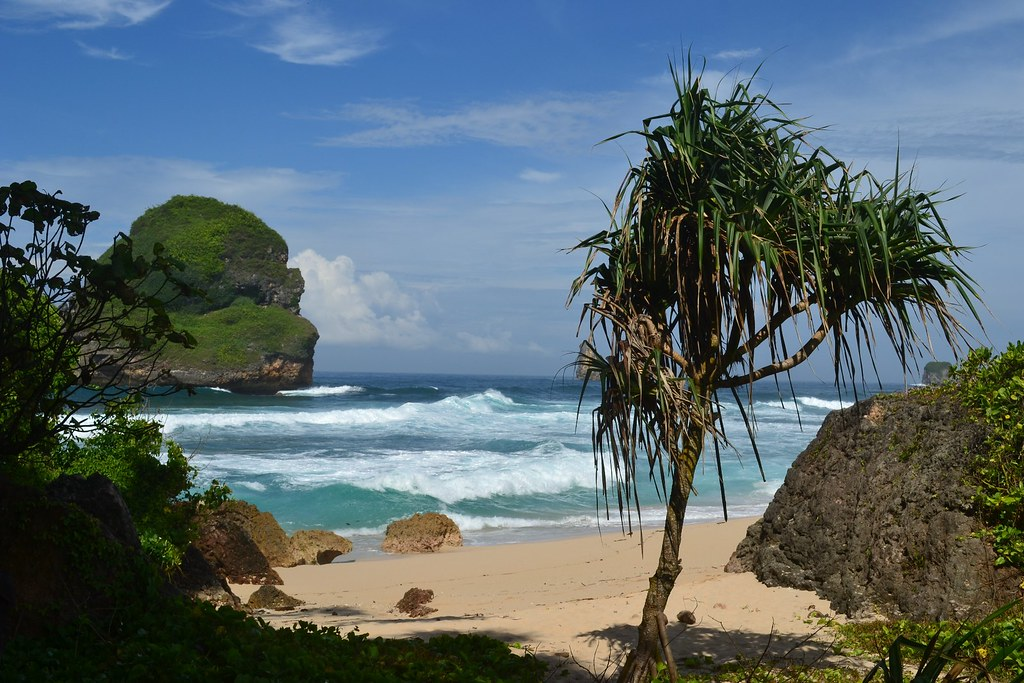 Pantai Goa Cina Malang Selatan 3 Farid Ma Ruf Flickr