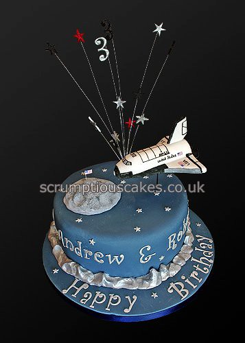 Amazing Birthday Cake 735 Space Shuttle Paula Jane Bourke Flickr Personalised Birthday Cards Vishlily Jamesorg