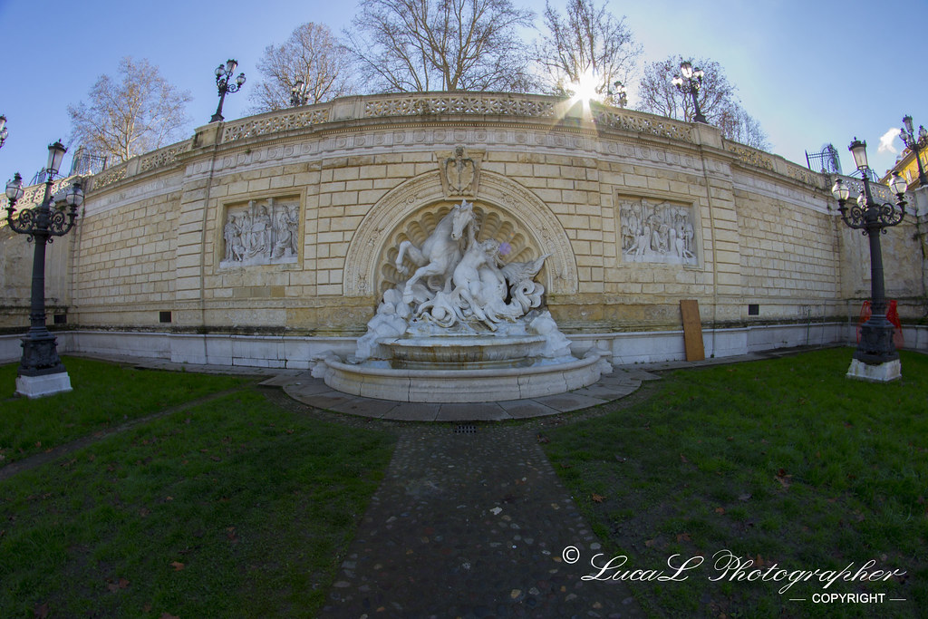Fontana Alla Scalinata Del Pincio Foto Scattata A Bo