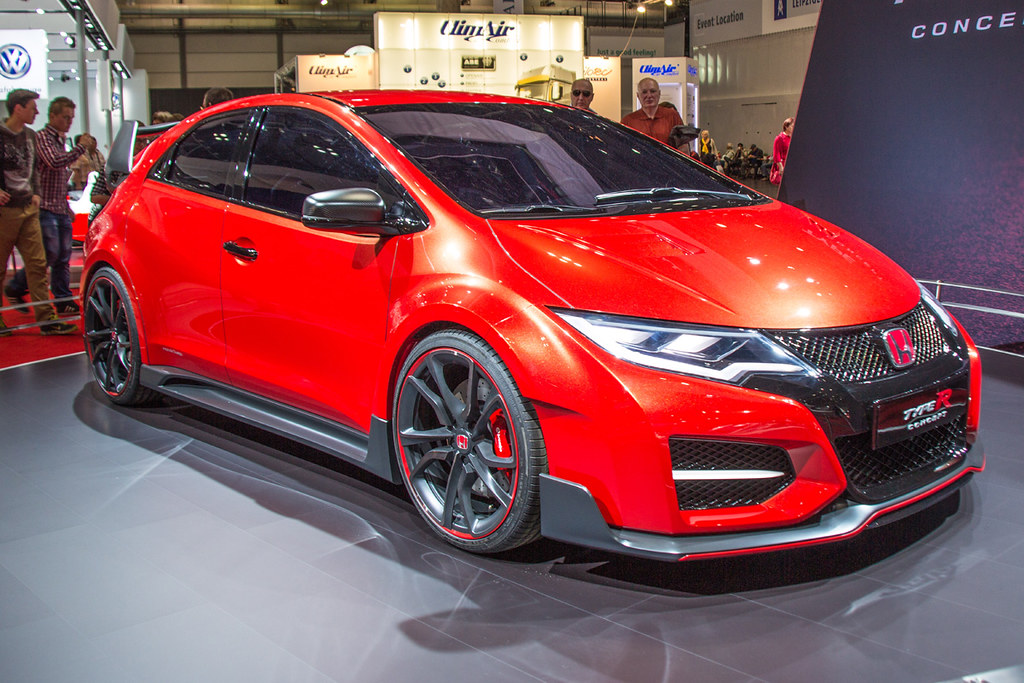 AMI Leipzig 2014 - Honda Civic Type R concept | Folgt ...