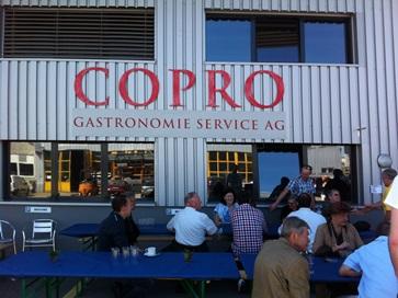 25. April 2013 Besichtigung der Copro