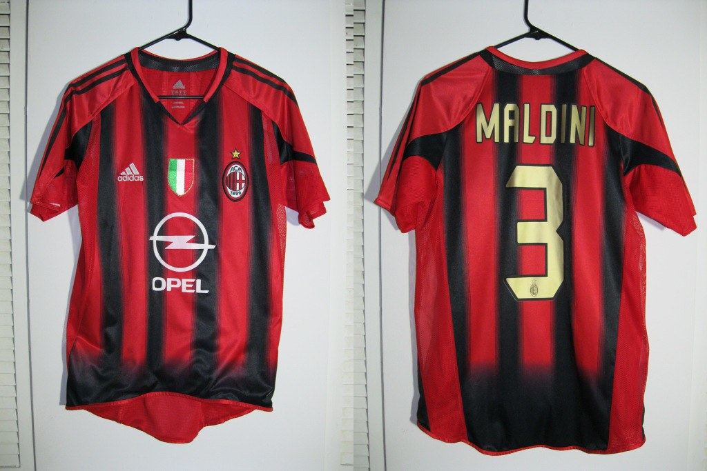 new style 7559b df766 AC Milan 2004-2005 (Home) Player Issue Kit | Sakhratul | Flickr