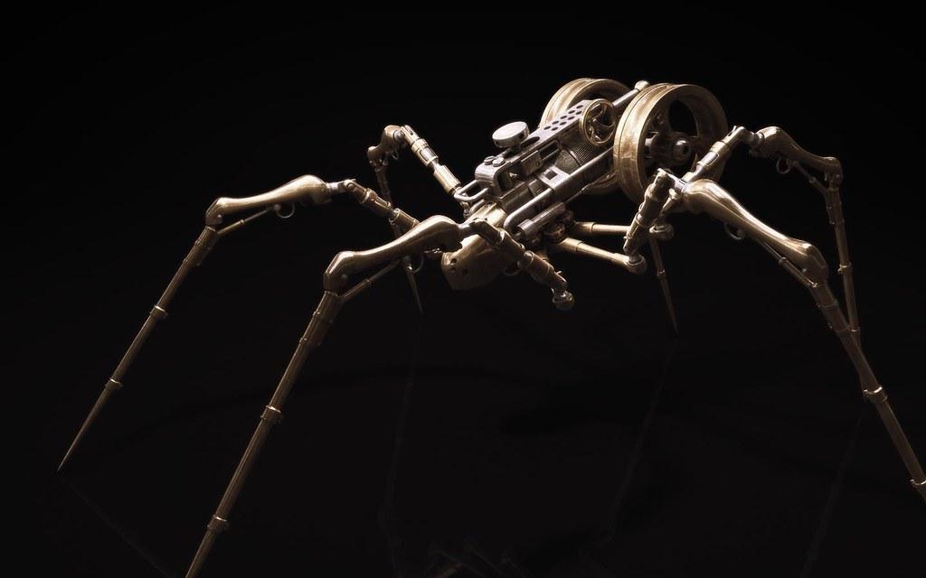 Steampunk Arachnid 08