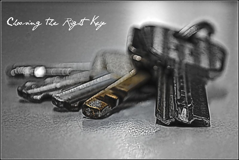 Choosing The Right Key-Explored 2011-06-15   #307