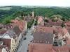 Rothenburg ob der Tauber, výhled z radniční věže dolů, foto: Petr Nejedlý