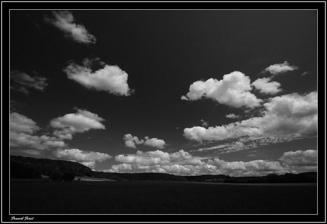 nuages sur le plateau d'eternoz