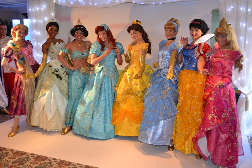 Meeting The Disney Princesses At The Princess And Pirates Flickr
