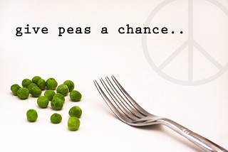 [give peas a chance] | by RHiNO NEAL