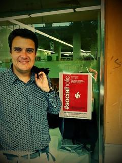 Fernando Polo previo a la presentación de #Socialholic