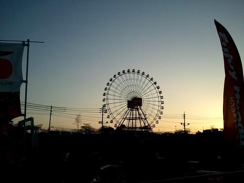 sunset wheel camphone ferris circuit suzuka