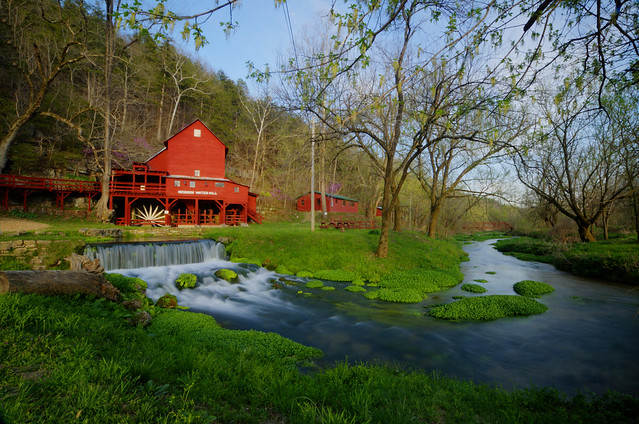 Early Spring at the Hodgeson mill