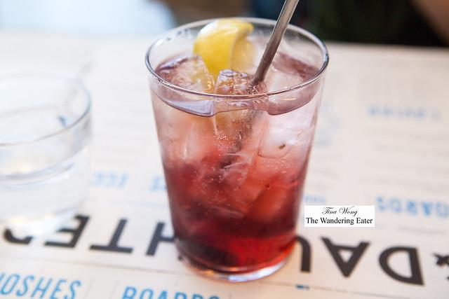 Concord grape soda