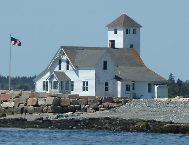 Bar Harbor, ME, Island Lighthouse