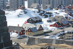 The Colonial Harbor in Nuuk
