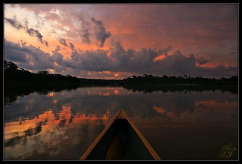 lake reflection clouds sunrise pond texas canoe bayou redsky pasadena canoeing paddling bayareapark armandbayou wanam3
