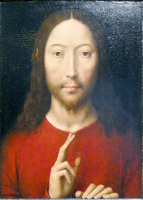 Memling - Christ blessing