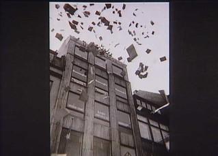 UFA Film i Nygade i København raseres d. 5. maj 1945. UFA producerede de tyske ugerevyer