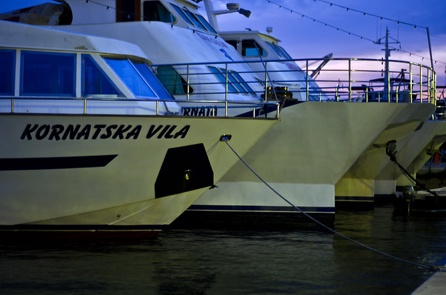 Kornatska vila and other ships
