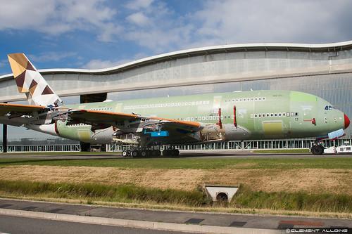 Etihad Airways Airbus A380-861 cn 170 F-WWAB // A6-APB | by Clément Alloing - CAphotography