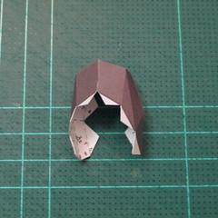 วิธีทำโมเดลกระดาษหมีบราวน์ชุดบอลโลก 2014 ทีมบราซิล (LINE Brown Bear in FIFA World Cup 2014 Brazil Jerseys Papercraft Model) 012