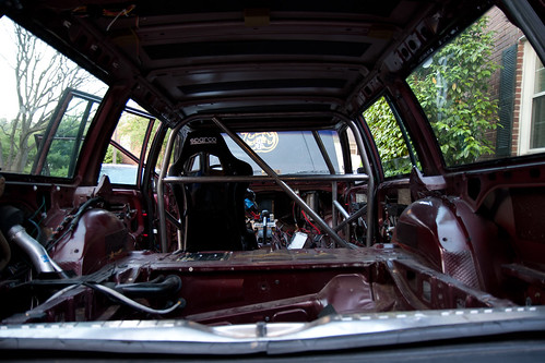 Roll cage from the rear | by drewgstephens