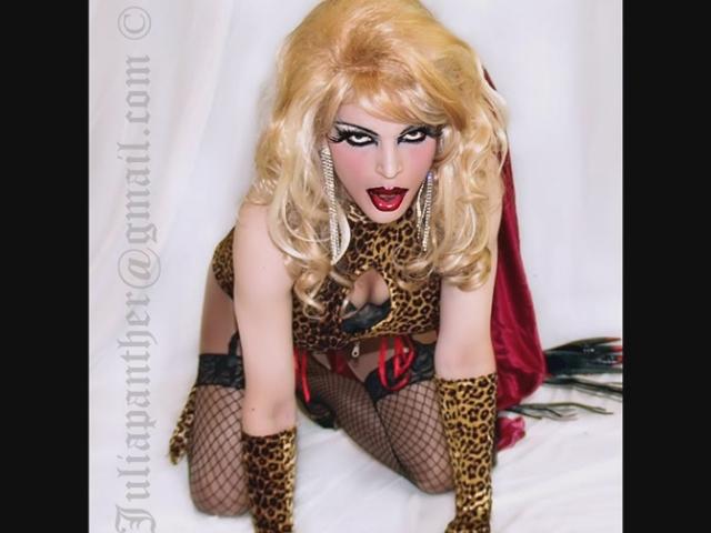 The sexy fetish kitten Julia