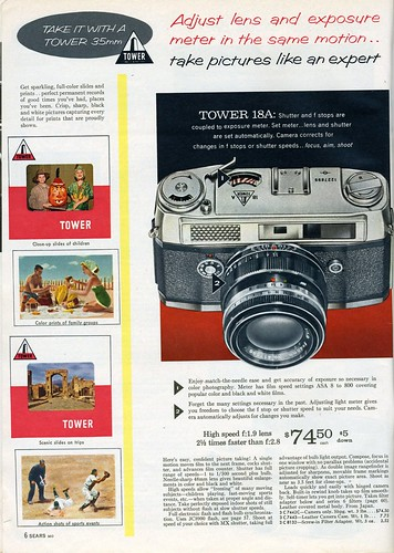 1961 Sears: Tower 18A | by Nesster