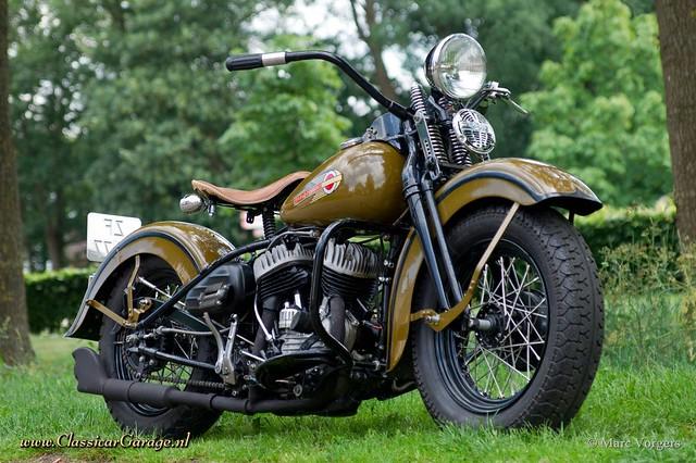 1942 Harley Davidson WLC