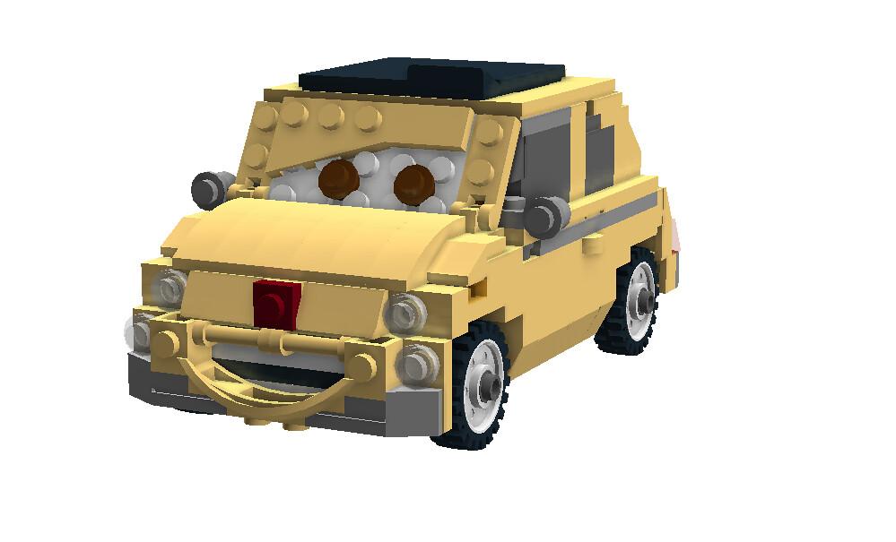Luigi Disney Pixar Cars Movie Character One Of The S Flickr