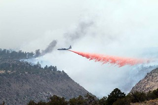 C-130 MAFS protecting the ruins in Frijoles Canyon.