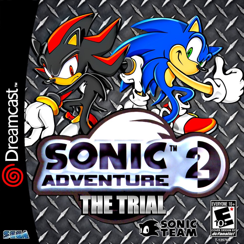 Sonic Adventure 2 The Trial Custom (BLK) | Cover Design By